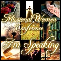 Speaking at Missional Women