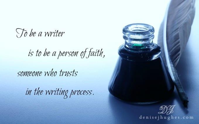 A Writer of Faith