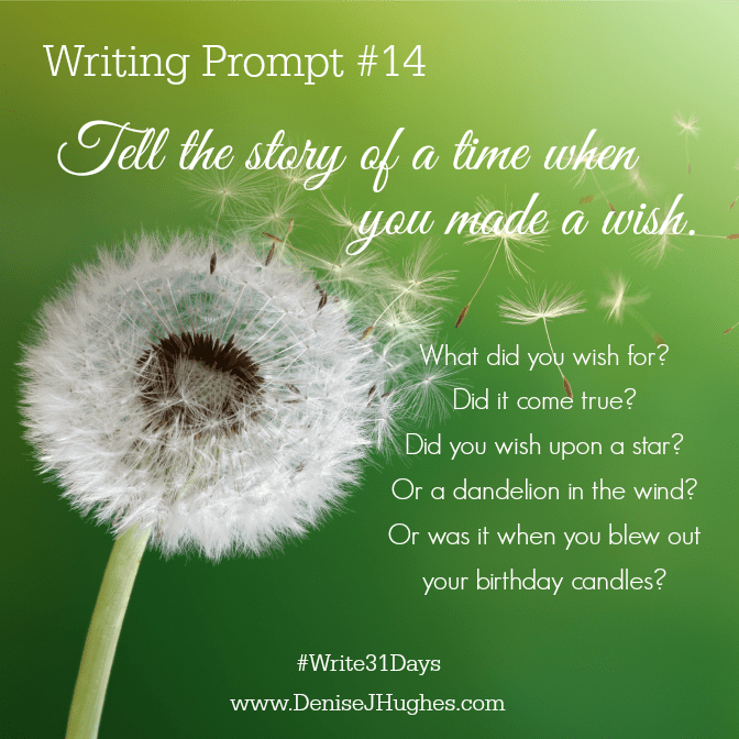 Writing Prompt 14