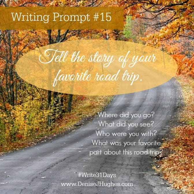 Writing Prompt 15