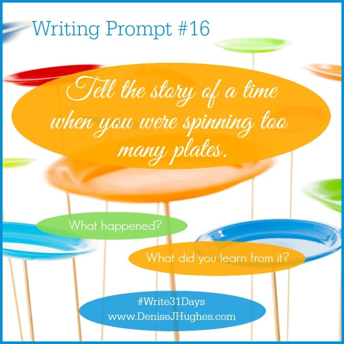 Writing Prompt 16
