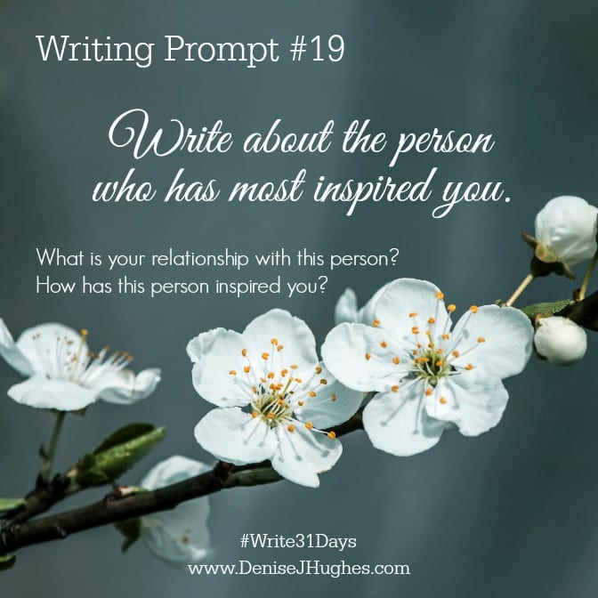 Writing Prompt 19