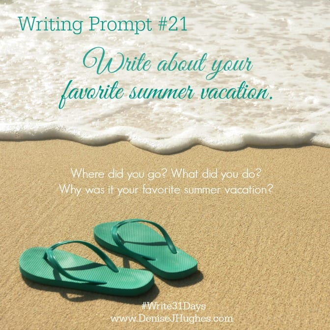 Writing Prompt 21