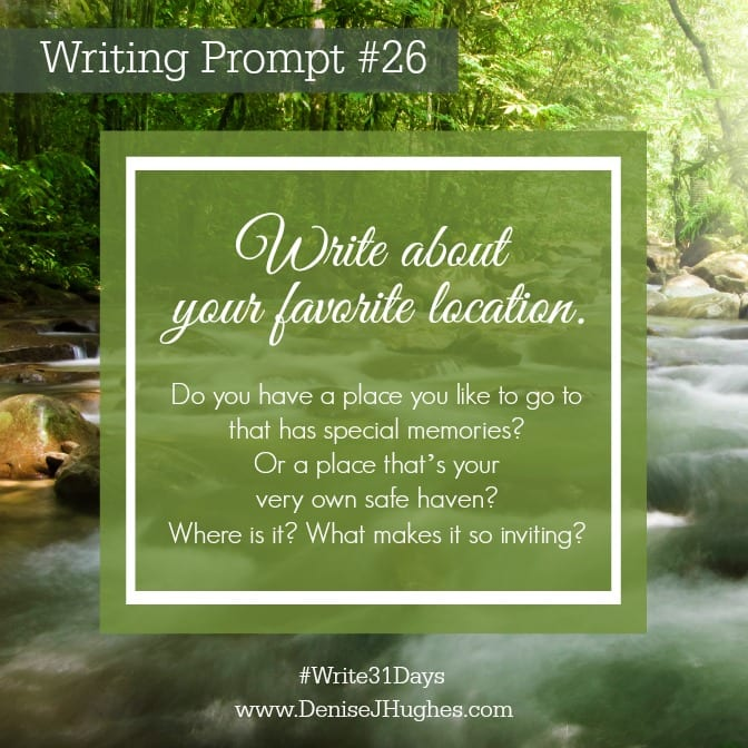 Writing Prompt 26