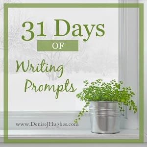 31 Writing Prompts